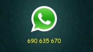whatsapp con numero
